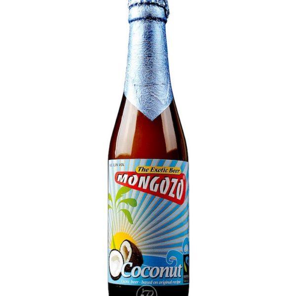 bière mongozo coconut 33cl - pub sportif paris vincennes