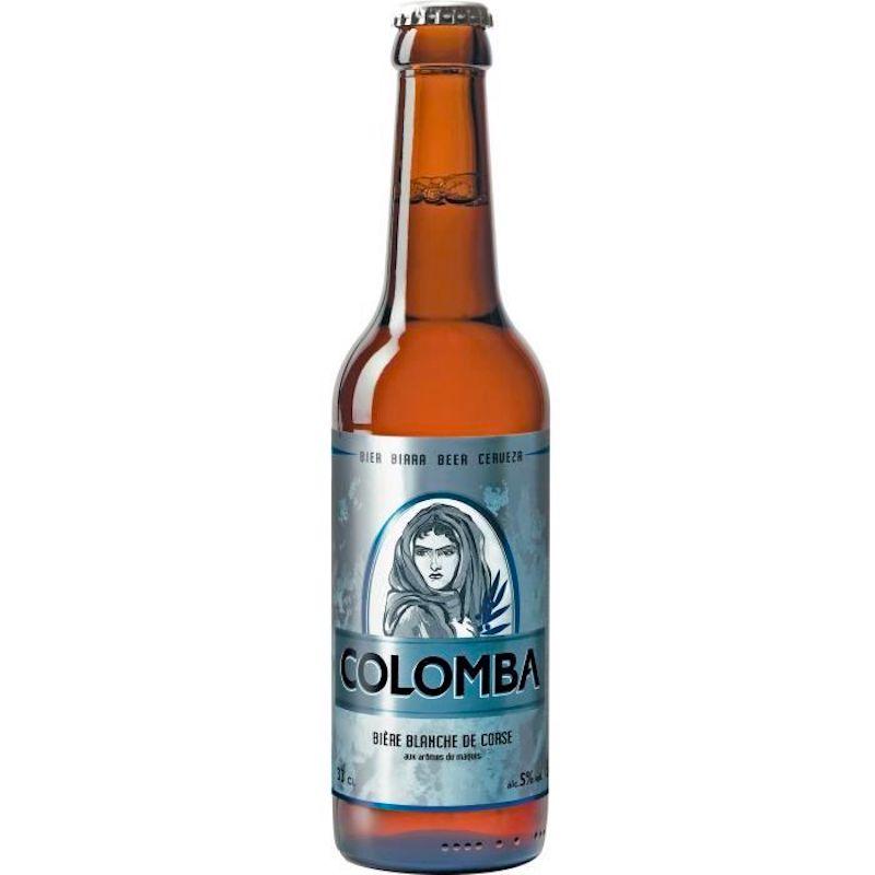 Bière Corse Blanche Colomba - Pub Paris Vincennes La tete a l envers