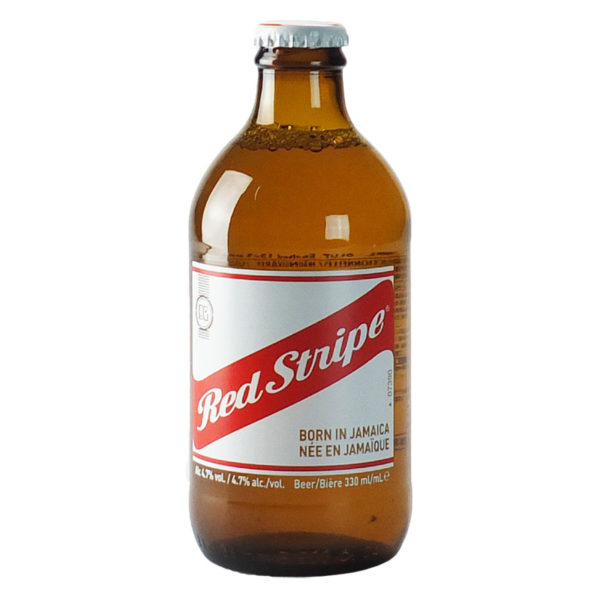 Biere jamaicaine red stripe - Bar paris Vincennes La tete a l envers