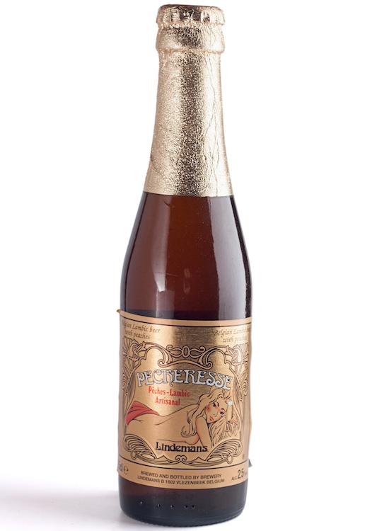 Bière Pêcheresse Lindemans - bar à bière paris