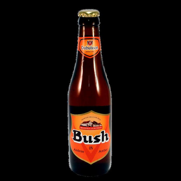 bière ambrée Bush - Pub sportif Paris vincennes