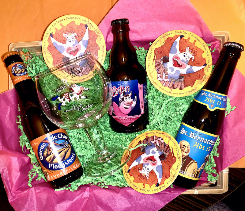 panier 3 bières à emporter bar à bierre vincennes