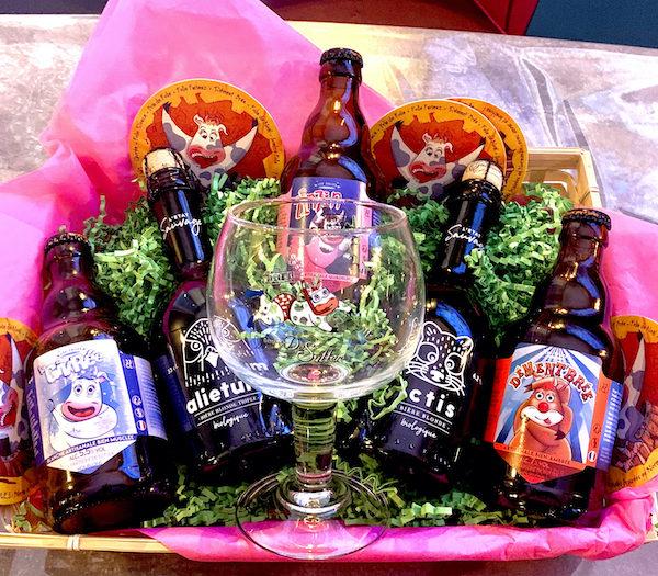 panier 5 bières bar bière à emporter