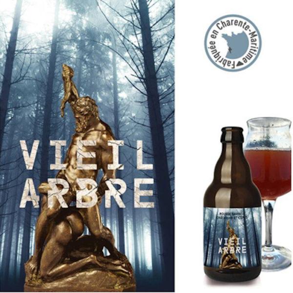 bière biologique Vieil Arbre, une bière rousse