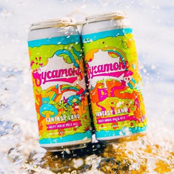 Bière Brewing Sycamore-Fantasy Land en canette