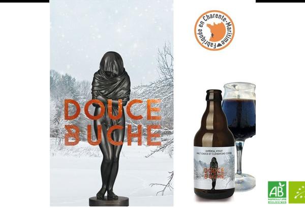 Bière biologique - Douche buche Brasseurs Cueilleurs - bar à bières parie