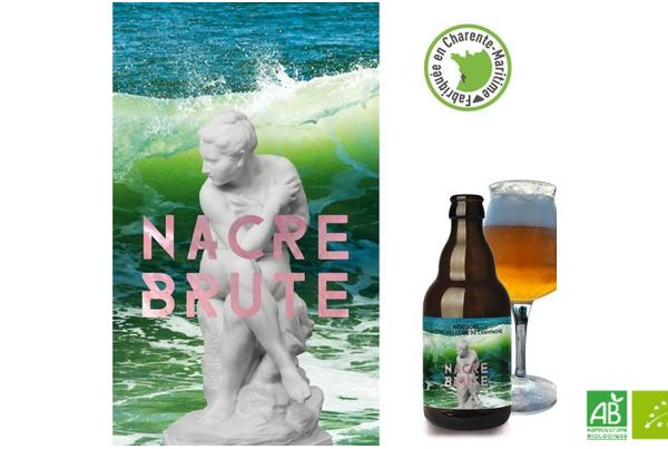 bière biologique NACRE BRUTE GOSE 33 CL